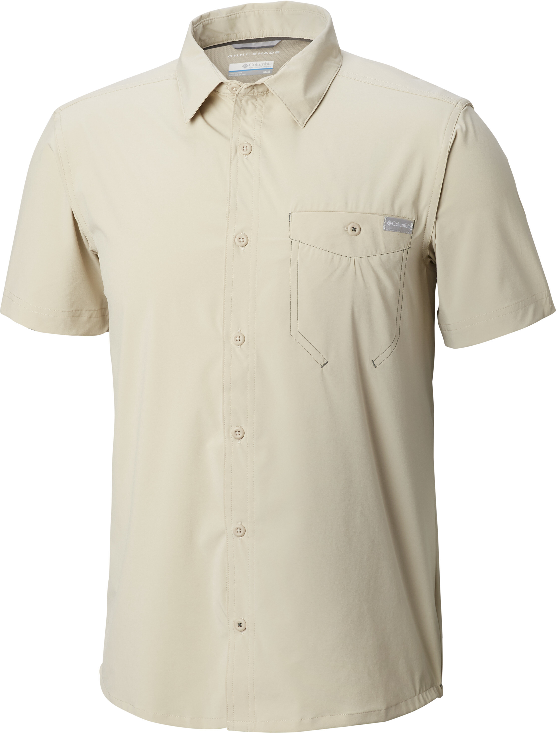 a5fb2ab0beb Columbia Triple Canyon Solid Short Sleeve Shirt Men Fossil | campz.ch